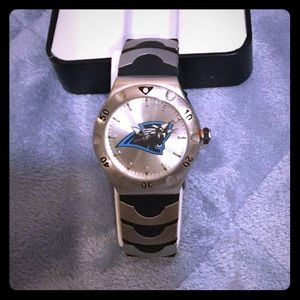 Carolina Panthers NFL Team Logo Watch Avon NIB